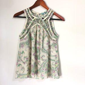 ANTHROPOLOGIE LEIFNOTES 0 blouse